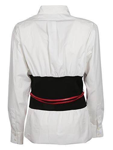 Bianco Donna Victoria Shlng1742white Beckham Cotone Camicia TXPEPwqgxa