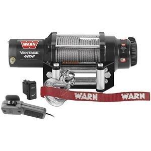 Warn Vantage 4000 Winch - Black