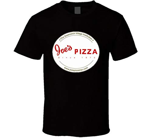 N/Y Joe's Pizza Restaurant Foodie Tour – Camiseta de manga corta, color negro