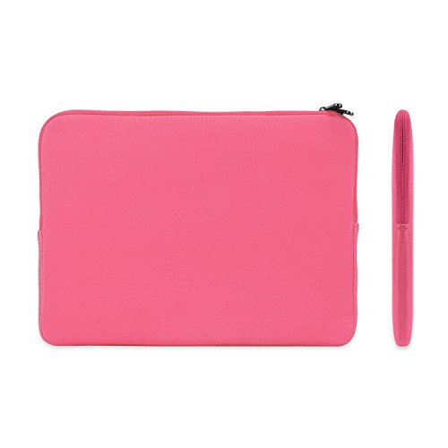 TOP CASE - Zipper Sleeve Bag Cover Case Compatible with MacBook Pro 13-inch A1989,A1706 with Touch Bar/A1708 Without Touch Bar (Release 2017,2016,2018) - Hot Pink