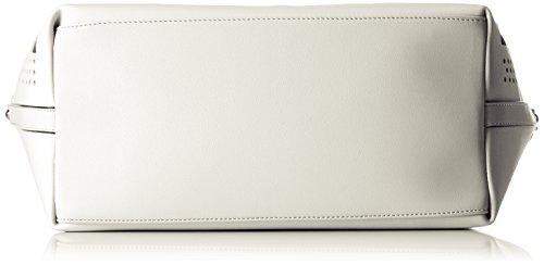 Tua by Braccialini Summer, Borsa a Mano Donna, 43x26x16 cm (W x H x L) Bianco