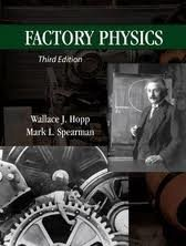 Factory Physics 3th (third) Edition PDF