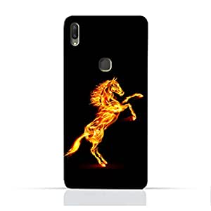 AMC Design Horse on Flame Printed Protective Case for Vivo Y85 - Multi Color