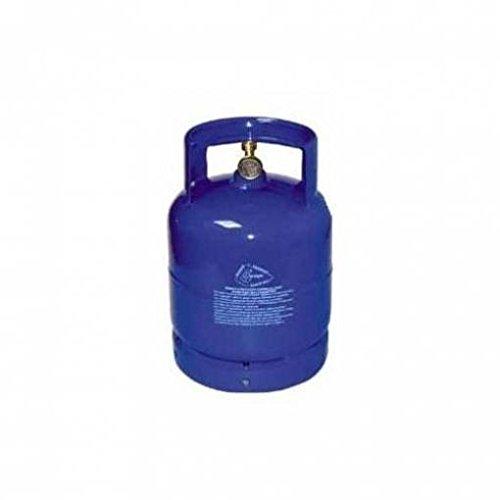 Recargable botellas de gas para camping 5 Kg vacío barbacoa placa de estufa caravana: Amazon.es: Bricolaje y herramientas