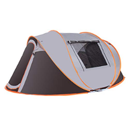 Ma Peng bird flying Tent Camping 2 People Speed Open Automatic Two Room one Hall Thick Rainproof Waterproof Tent Outdoor 3-4 People Travel