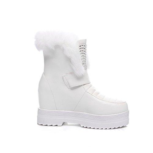 BalaMasa  Abl09398, Sandales Compensées femme - Blanc - blanc,