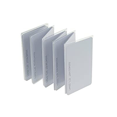 OBO HANDS Proximity 125KHz EM4100 RFID Proximity Smart Entry Access Employee ID Entry Card Thickness 0.8mm (10)
