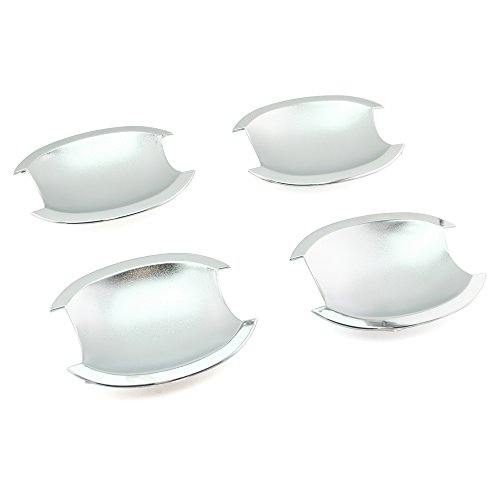 Silver Sticks 2009 (SEGADEN Chrome Door Handle Bowl Cover Trims fit for NISSAN Livina Sylphy Tiida Versa Latio 2004-2011 XG2500B)