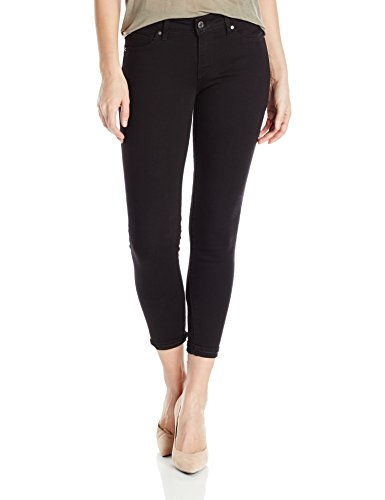 711 Skinny Ankle Jean, Black, 28 (US 6)