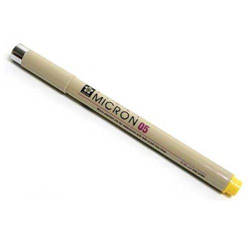 SAKXSDK0849 Micron Pen,Waterproof/Fade Resistant,0.50mm Point,Black. by SAKURA COLOR PROD AMERICA (Image #1)