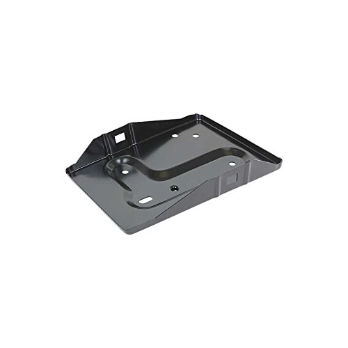 MACs Auto Parts 44-41047 Mustang Battery Tray - Painted Black - Without Bracket