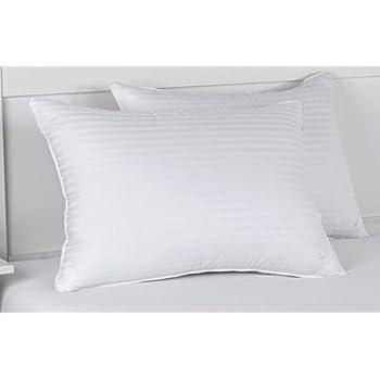 Amazon Com Nautica Dobby Stripe Pillows 2 Pack King