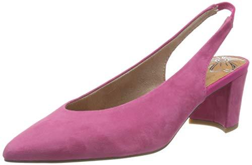 Marco Tozzi 2-2-29605-24, Sandali con Cinturino alla Caviglia Donna, Rosa (Pink 510), 37 EU