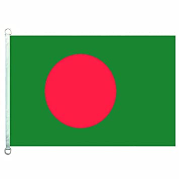 Amazon com : HomeKing Bangladesh Flag Banner 2X3FT 3X5FT 100