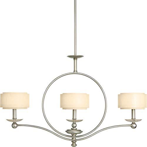 Billiard Fixtures Progress Lighting - Progress Lighting P4349-134 Linear Chandelier, 3-60-watt