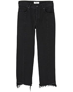 Mango Women's Premium Relaxed Jeans