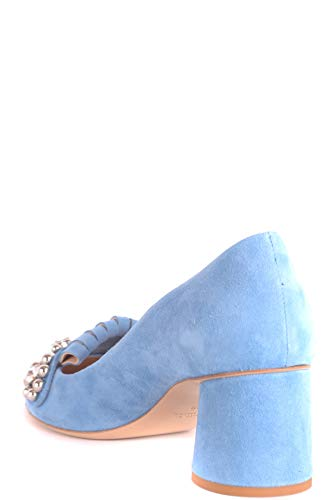 NINALILOU Escarpins Femme Suède Bleu Claire MCBI495003O q7BrvTwB