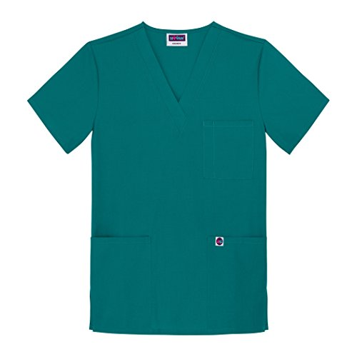 Sivvan Unisex V-Neck 3 Pocket Scrub Top (Available in 15 Colors)