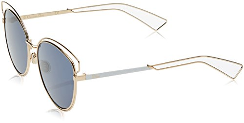 Christian Dior Sideral 2 Rose gold White Temple Color J9H - Sideral Sunglasses Dior