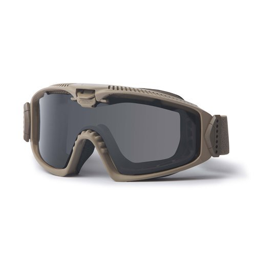 ESS Sunglasses Influx AVS Terrain Tan Goggles with Adjustable Ventilation System by ESS