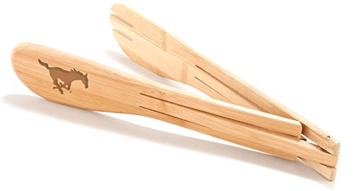 Southern Methodist Bamboo Tongs
