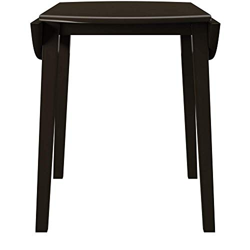 Ashley Furniture Signature Design - Hammis Dining Room Table - Drop Leaf Table - Dark Brown by Signature Design by Ashley (Image #2)