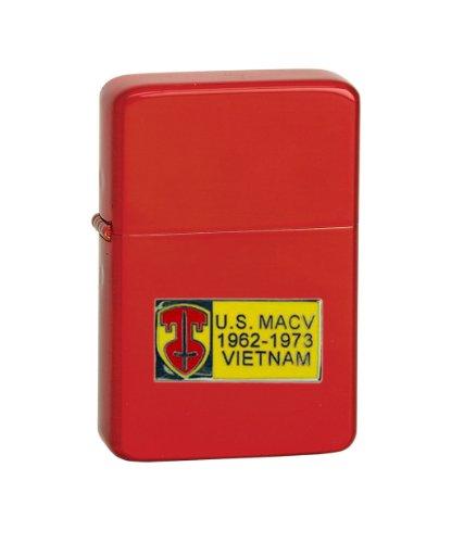 Vector-KGM-Thunderbird-Emblem-Sparkle-Red-Lighter-POWMIA-Vietnam-Tour-Badge-US-Macy-62-73