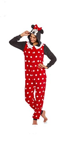 Women's Minnie Mouse Onesie Size 2X (Character Adult Onesie)