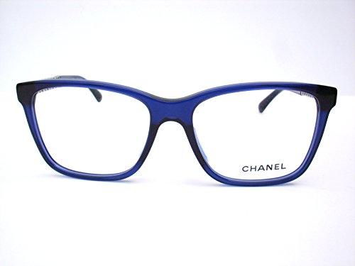 Chanel Authentic Designer Optical Eyeglasses-3302a -503 Blue Chain Collection