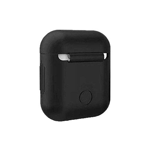 protettiva per Bluetooth auricolare Custodia iPhone per e 7 Nero AirPods auricolare Custodia silicone anti Mengonee xYwHqpCFn