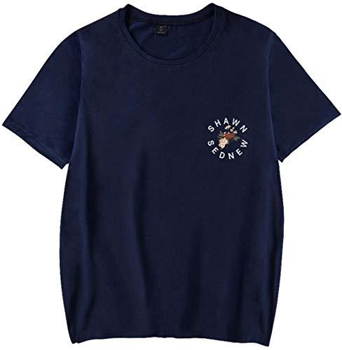 Shawn El shawn Mendes Para Por Azul Concierto Camisetas De Oliphee Verano Animen Mujer pwq0AxfHO