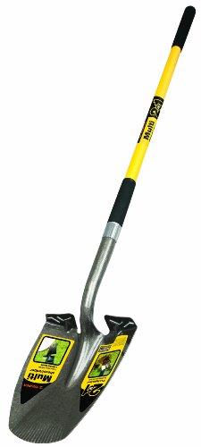 Truper 34073 Multi 2-In-1 Shovel-Edger, 48-Inch Fiberglass Handle, 9-inch Grip by Truper