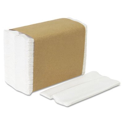Tall Fold Dispenser Napkins, 1-Ply, 7 x 13 1/2, White, 10000/Carton, Sold as 2 Carton, 10000 Each per Carton by Georgia Pacific Professional