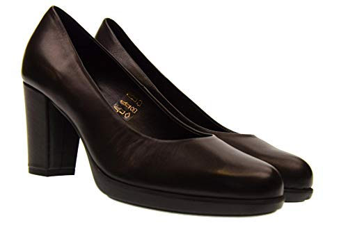 The Black New Decollet Woman Shoes D6504 02 Rosanna With Flexx Heel HvaHxwgq