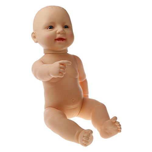 B Baosity 可愛い 子供 おもちゃ シリコン ソフトビニール製 リアル 赤ちゃん人形 女の子 贈り物