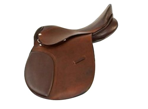 18 inches Liverpool Campale Eventing Saddle Leather Brown