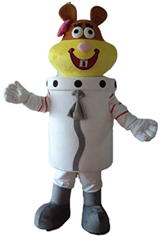 Aris Sandy Cheeks Mascot Costume Funny Cartoon Character Costumes for Party -