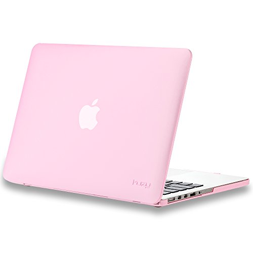 Shell Pink Reviews (Kuzy - Older Version MacBook Pro 13.3 inch Case (Release 2015-2012) Soft Touch Cover for Model A1502 / A1425 with Retina Display Hard Shell Plastic - Baby Pink)