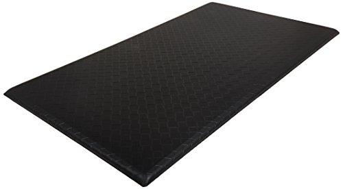 AmazonBasics Premium Kitchen/Office Comfort Standing Mat - 20x36-Inches, Black (Office Basics)