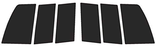 Precut Vinyl Tint Cover for 1999-2004 Ford Mustang Taillights (20% Dark Smoke)