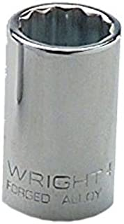 "product image for Wright Tool 41-28MM 28mm 1/2"" Drive 12-Point Standard Metric Socket"