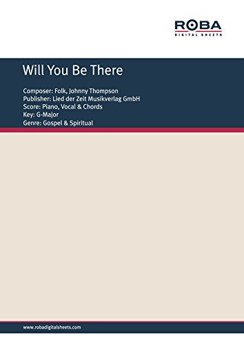 Will You Be There Single Songbook German Edition Kindle Edition