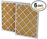 Santa Fe Rx Dehumidifier 16 X 20 X 2'' Merv 11 Filters (4021475) 6-Pack