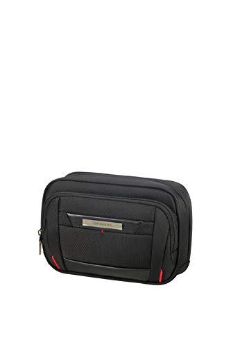 (Samsonite Pro-DLX5 Cosmetic Cases Slim Toiletry Bag, 20 cm, Black)