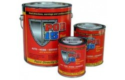 Por-15 Semi Gloss Black Rust Preventive Paint Por15-2 Quart Kit