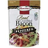 Hormel Real Crumbled Bacon, Peppered 3 Oz (Pack of 3)
