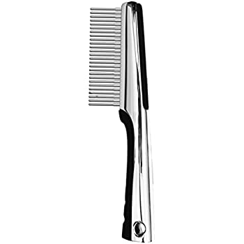 Resco Professional Anti-Static Dog, Cat, and Pet Rotating Pin Comb, Best for Removing Knots and Mats