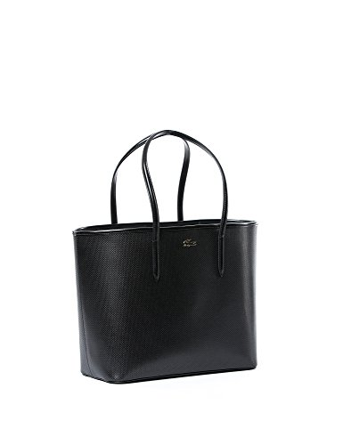 Lacoste NF1220CE, Borsa shopper donna Nero (Schwarz (Without Color 000))