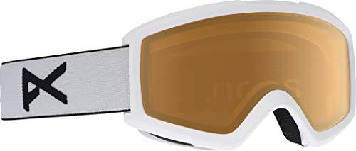 Anon Helix 2.0 Non Mirrior Goggles White/Amber Lens Mens