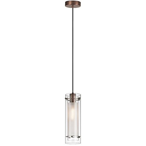 dainolite-lighting-22152-cf-obb-1-light-clear-frosted-glass-pendant-oil-brushed-bronze-finish